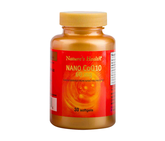 Nature's Health Nano COQ10 60 mg