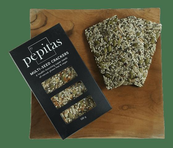 Pepitas Cracker Biji-Bijian Pedas