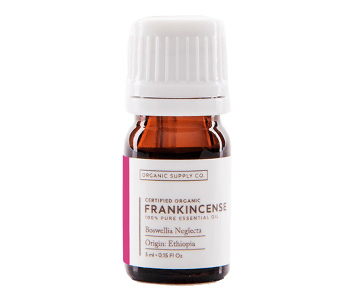 Organic Supply Frankincense Essential Oil 10 ml