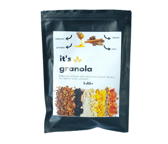 Balihodish Granola Honey Cinnamon 100 gr