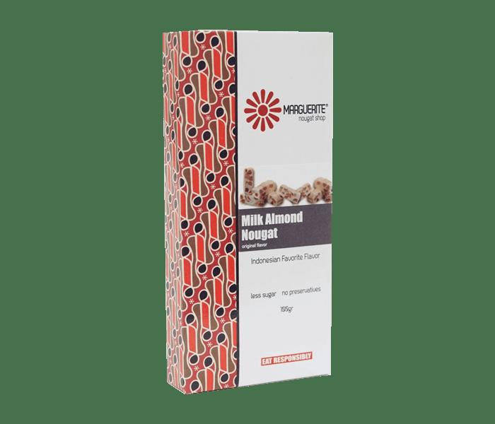 Marguerite Milk Almond Nougat 200 gr