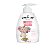 Attitude Little Ones Baby Body Lotion Fragrance Free 300 ml