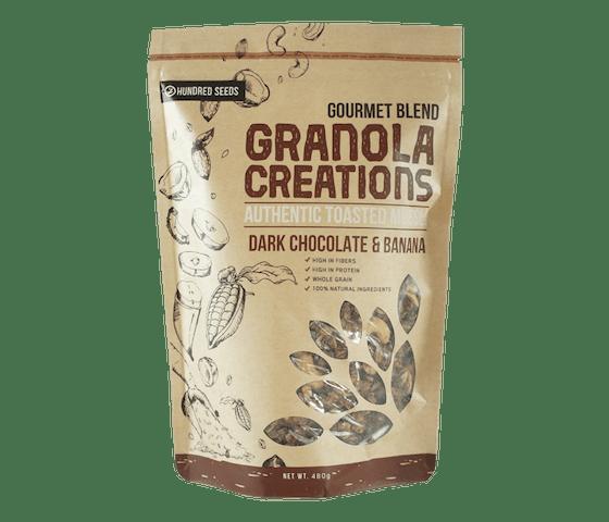 Granola Creations Granola Pisang Cokelat Gourmet Mix 480 gr