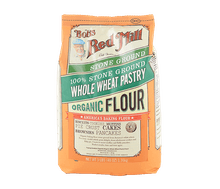 Bob's Red Mill Organic Whole Wheat Flour Pastry 1,36 kg
