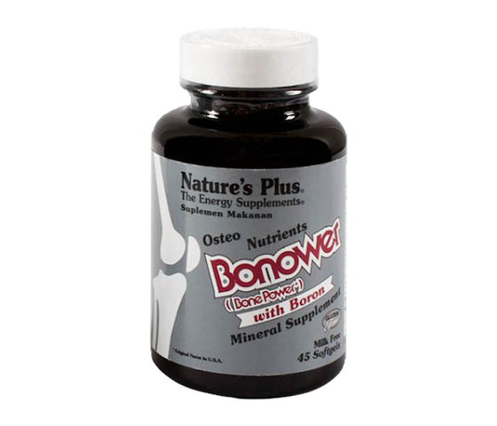 Nature's Plus Bonower (Bone Power) with Boron 45 softgels