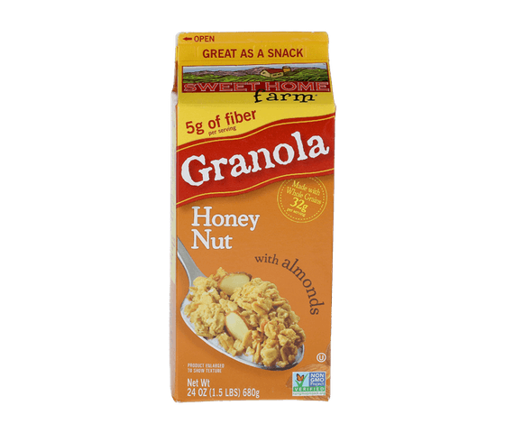 Sweet Home Farm Granola Honey Nut with Almonds