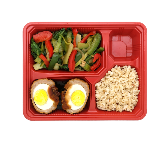 Healthy Bento Lunch Dinner Weekly Weight Loss for 5 days