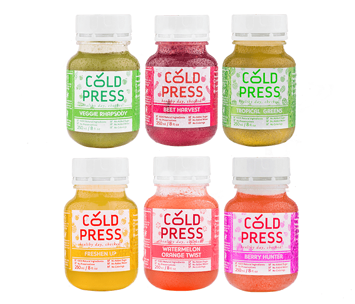 Cold Press Signature Pack