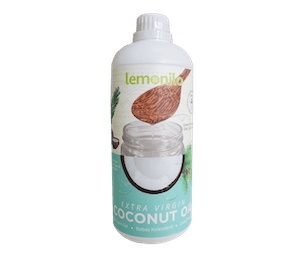 Lemonilo 100% Organic Extra Virgin Coconut Oil (VCO) 1000 ml