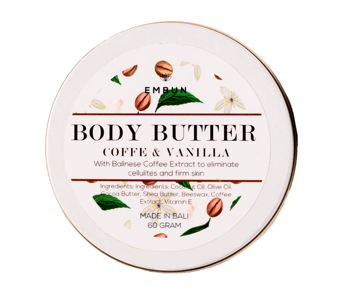 Embun Body Butter Firming Coffee & Vanilla 60 gr