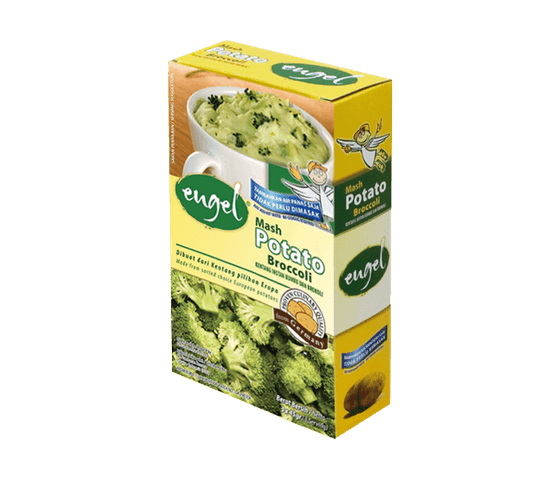 Engel Mashed Potato Broccoli