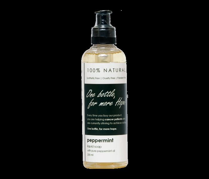 Ava Natural Peppermint Liquid Soap