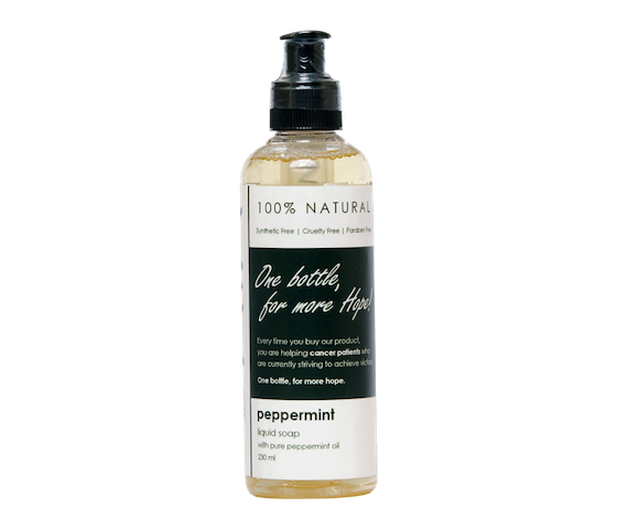 Ava Natural Peppermint Liquid Soap