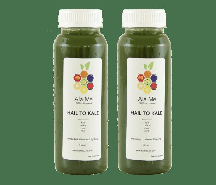Jual Ala.Me Hail to Kale Cold Press Juice Pack of 2 @500ml hanya di Lemonilo.com