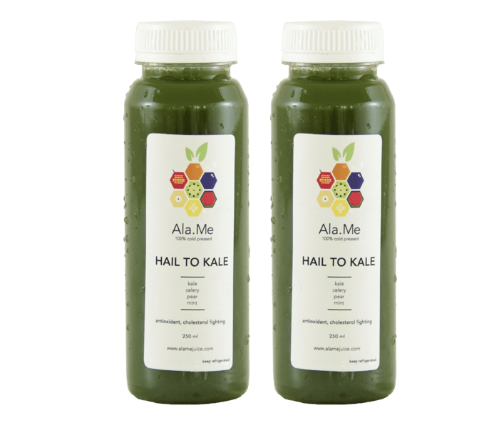 Ala.Me Hail to Kale Cold Press Juice Pack of 2 @500ml