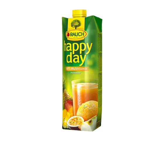 Rauch Happy Day Multivitamin Fruit Juice 1 L