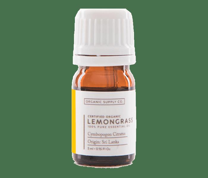 Organic Supply Lemongrass Essential Oil 10 ml