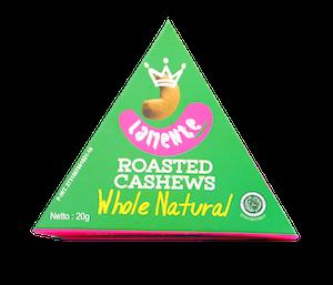 La Mente Roasted Cashews Whole Natural 20 gr