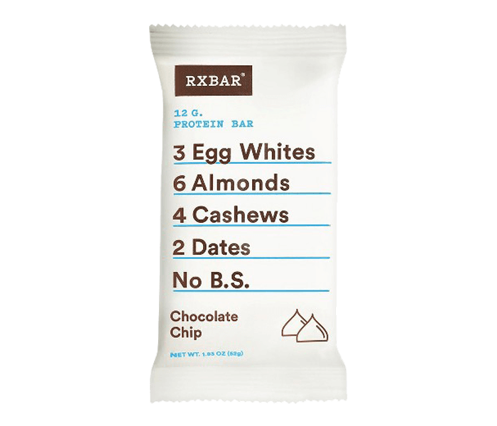 Eatvit Rx Bar Chocolate Chip