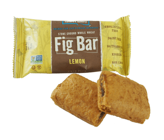 Nature's Bakery Fig Bar Lemon