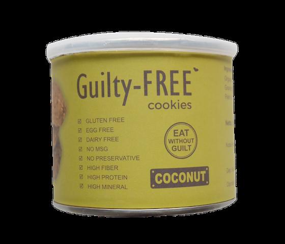 Lajoya Guilty-Free Coconut Cookies 180 gr
