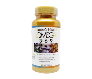 Nature's Health Omega 3-6-9 45 Kapsul