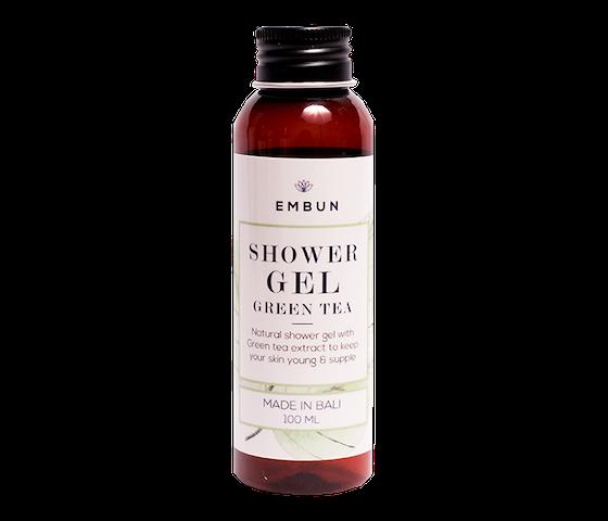 Embun Shower Gel Anti Aging Green Tea 100 ml