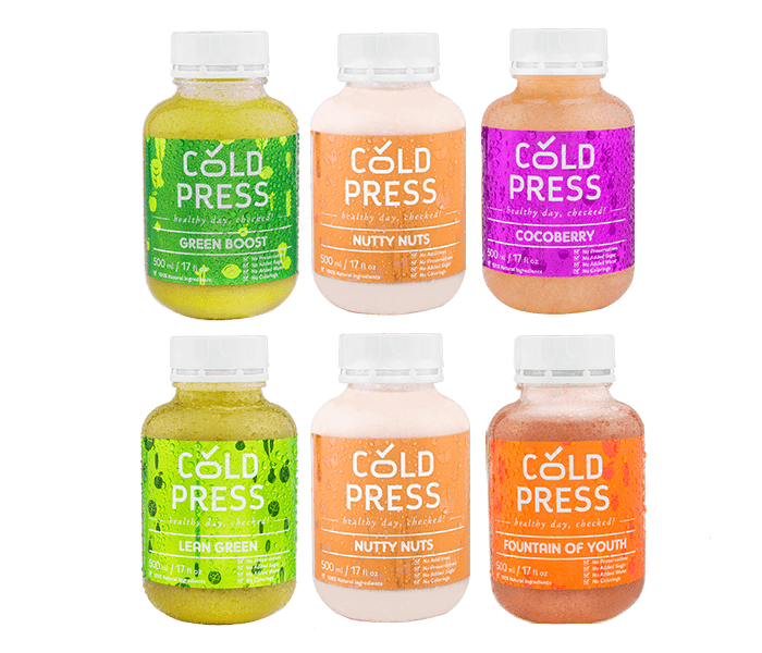 Cold Press 1 Day Power Cleanse Detox