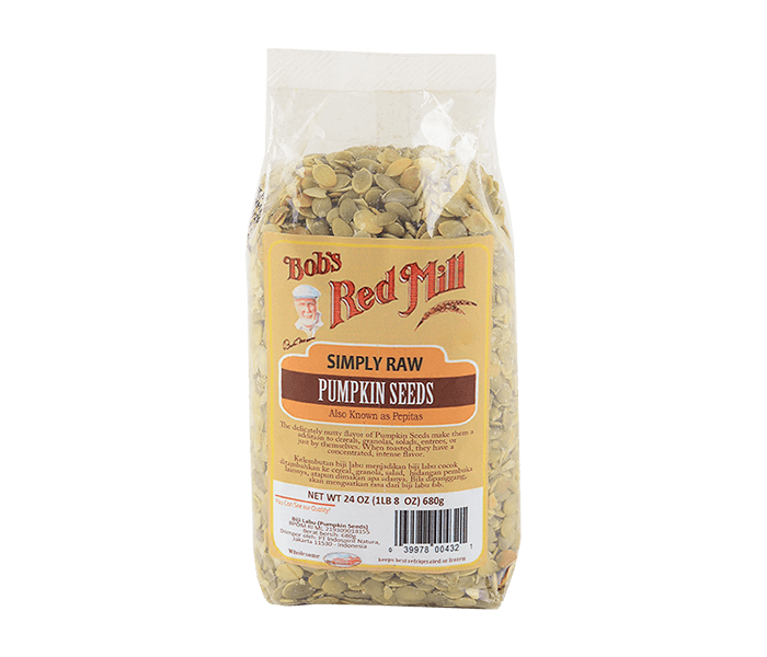 Bob's Red Mill Simply Raw Pumpkin Seeds 680 gr
