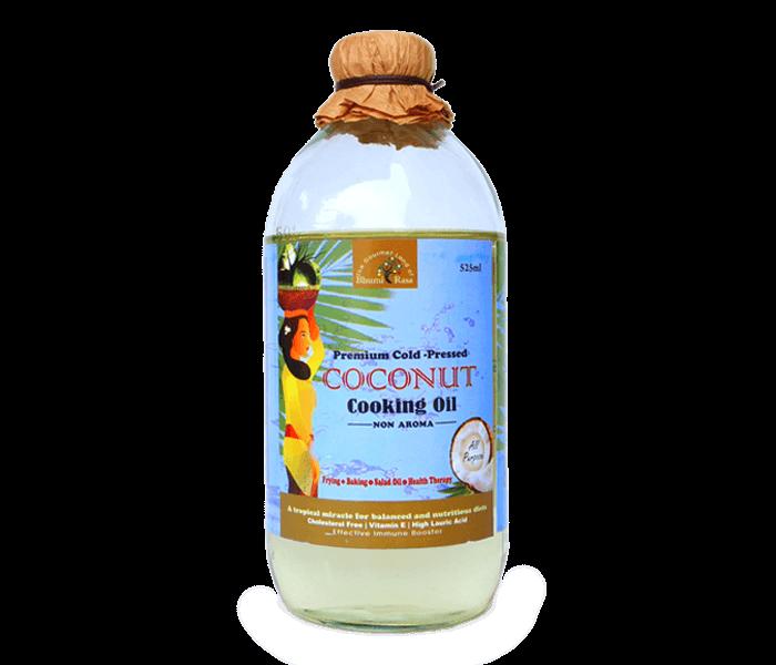 Jual Javara Bhumi Rasa Coconut Cooking Oil 525 ml hanya di Lemonilo.com