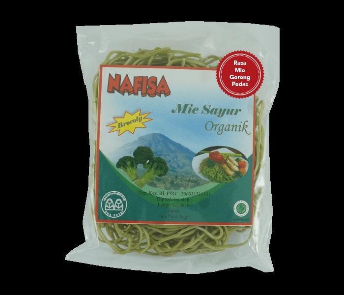 Nafisa Mie Goreng Pedas Instan Brokoli Tanpa Minyak