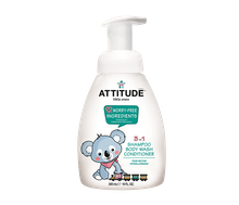 Attitude Little Ones Baby 3 in 1 (Shampoo, Body Wash, & Conditioner) Pear Nectar 300 ml