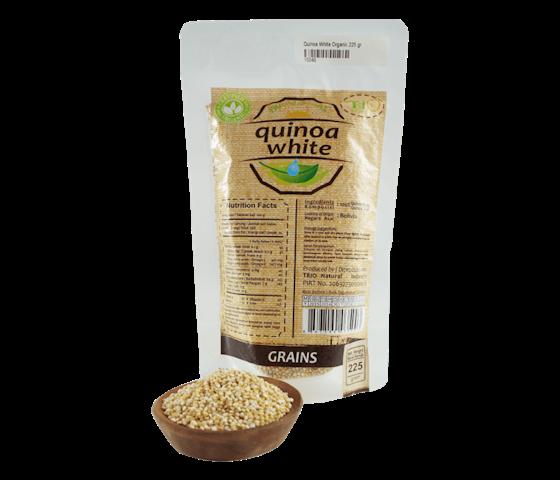 Trio Quinoa Putih Premium 225 gr
