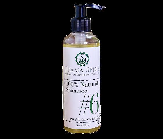 Utama Spice 100% Natural Shampoo #6 230 ml