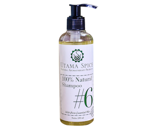 Utama Spice 100% Natural Shampoo #6 230 ml