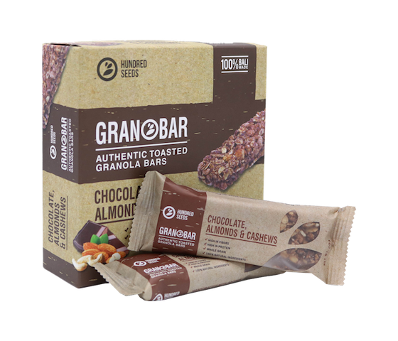 Granobar Chocolate, Almonds & Cashews Box