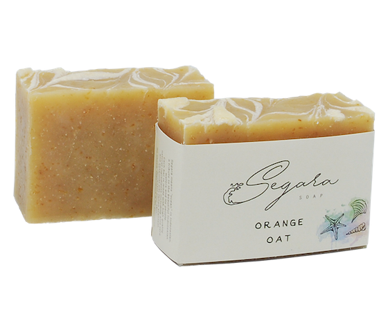 Segara Naturals Orange Oat Body Soap 120 gr