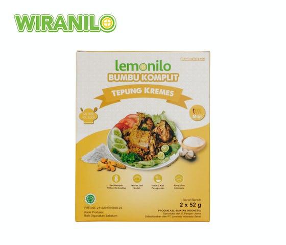 Lemonilo Bumbu Komplit Alami Tepung Kremes 104 gr - Wiranilo
