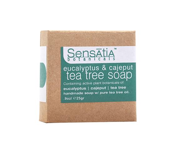 Sensatia Botanicals Eucalyptus & Cajeput Tea Tree Soap 25 gr
