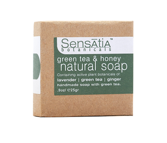 Sensatia Botanicals Green Tea & Honey Natural Soap 25 gr