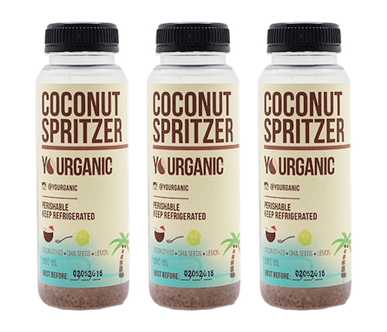 Yourganic Coconut Spritzer 250 ml (Pack of 3)