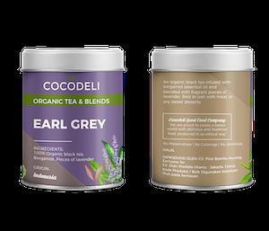 Cocodeli Organic Tea & Blends Earl Grey