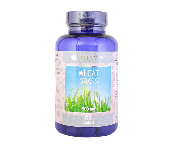 Wellness Wheat Grass 500 mg 60 Tablet