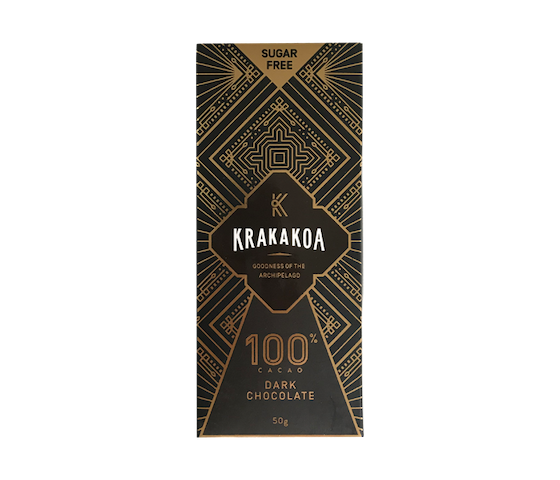 Krakakoa 100% Cacao Dark Chocolate 50 gr