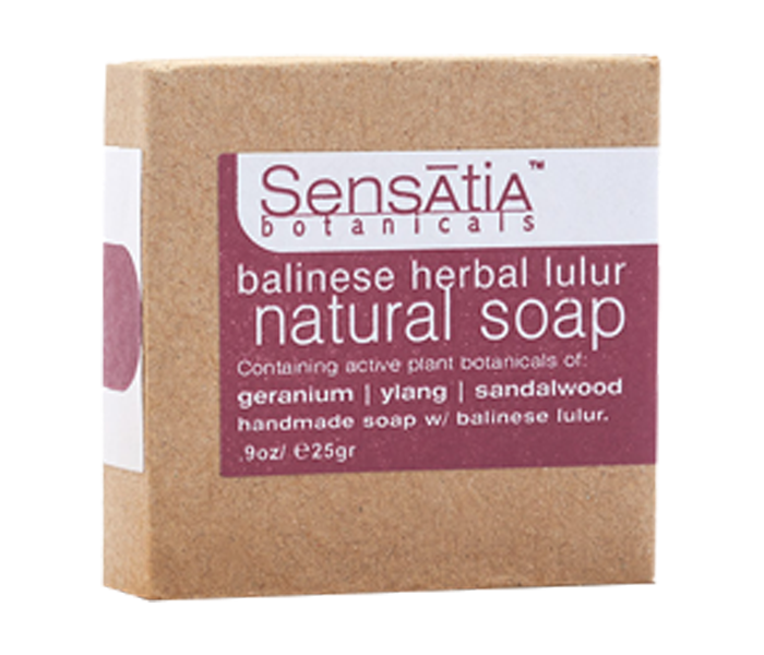 Sensatia Bar Soap Natural Balinese Herbal Lulur 25gr