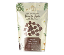 Verlin Almond Dark Chocolate Granola Cluster with Chia Seed