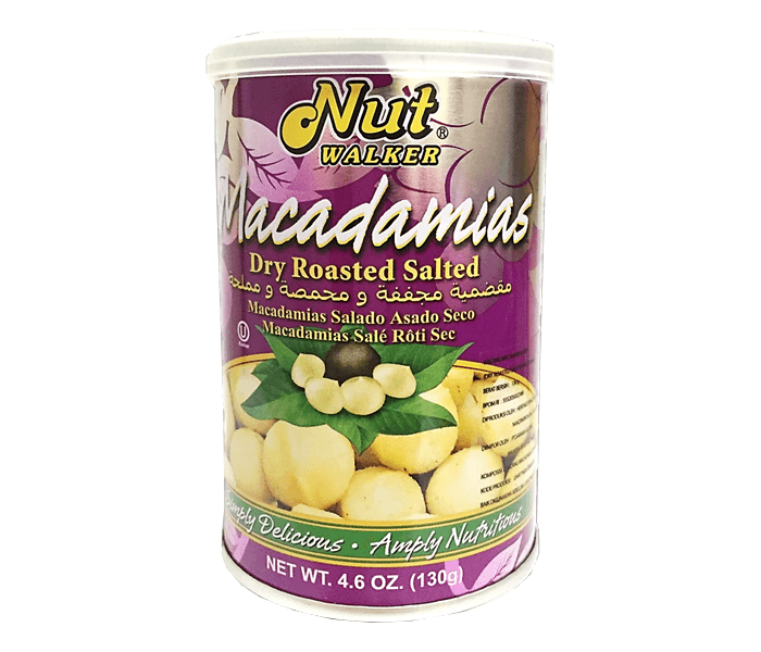 Nut Walker Macadamias Dry Roasted Salted 130 gr