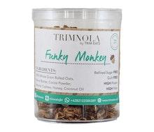 Jual Trim Eats Trim Nola Funky Monkey Chunky Granola (Container) hanya di Lemonilo.com