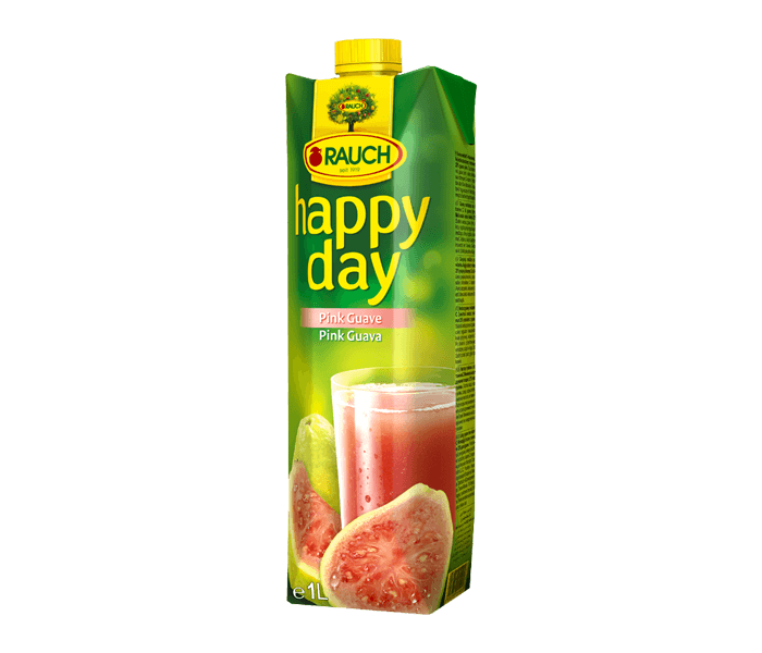 Rauch Happy Day Pink Guava Fruit Juice 1 L
