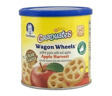 Gerber Graduates Wagon Wheels Biskuit Apel